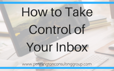 Organizing Your (Inbox) – But How?!?